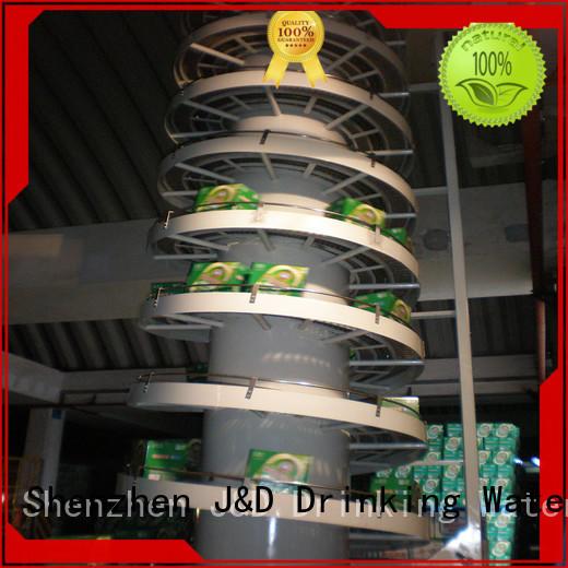 band industrial conveyor belts belts for beverage, J&D WATER