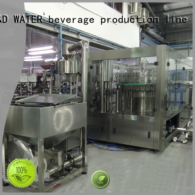 intelligent water bottling machine high accuracy for tea
