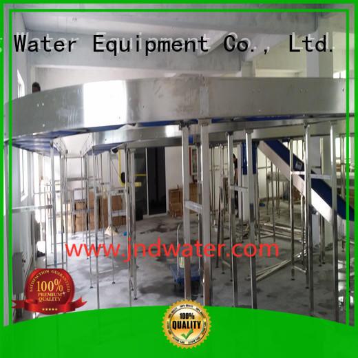material stainless steel OEM chain conveyor J&D WATER