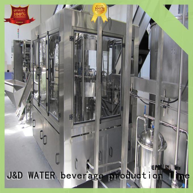 J&D WATER liquid packing machine engineering for milk
