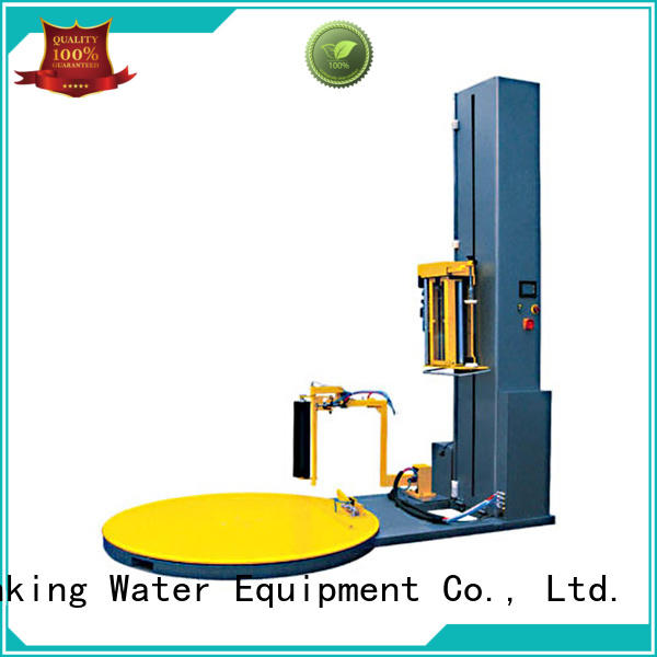 machine pallet wrapping machine high quality for medicine J&D WATER