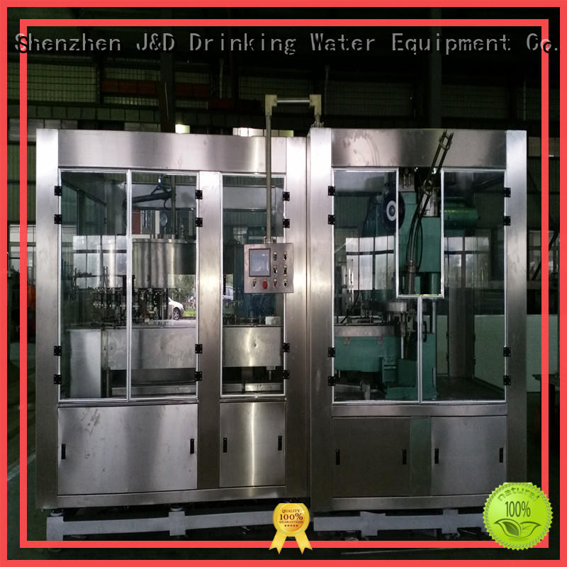 adjusted can filling machine complete function for hot infusion J&D WATER
