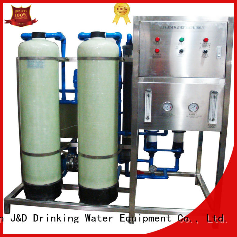 J&D WATER energy saving drinking water machine filter for Mineral Water