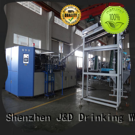 J&D WATER Automatic semi automatic pet blowing machine price water for beverage