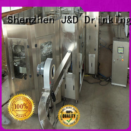 water bottling equipment capping for mineral water J&D WATER