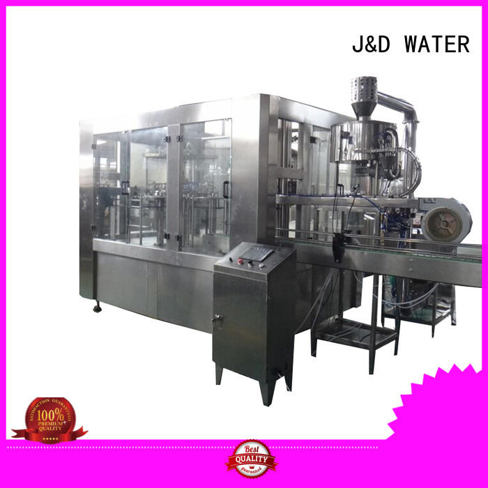 J&D WATER water packing machine stainless steel for vinegar