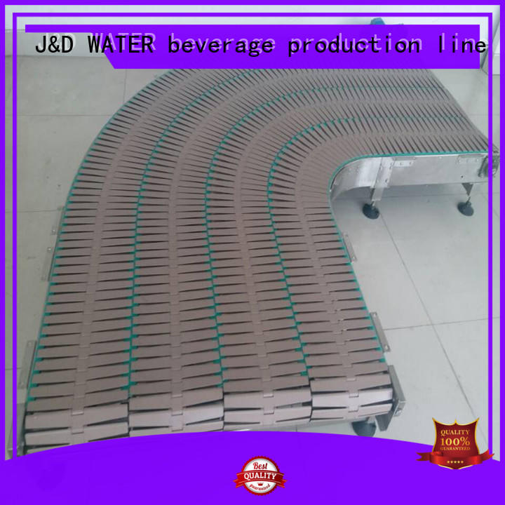 J&D WATER high quality chain conveyor high efficiency for food