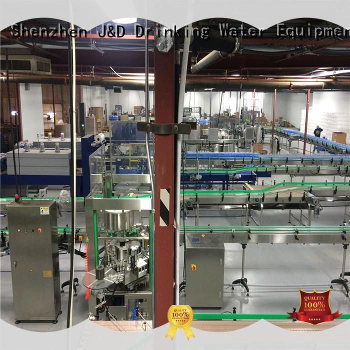 J&D WATER Customized slat conveyor system for food