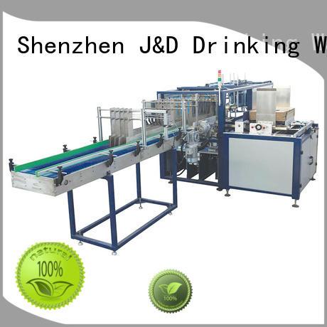 wraparound packing automatic cartoning machine J&D WATER Brand