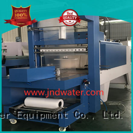 J & D WATER Марка термоусадочная полуавтоматическая упаковочная термоусадочная упаковочная машина