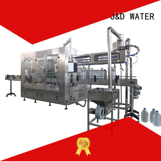 bottle filling machine high accuracy for pure water J&D WATER