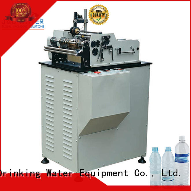 water bottle labeling machine intellectual control for metal container J&D WATER
