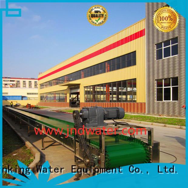 steel material OEM chain conveyor J&D WATER