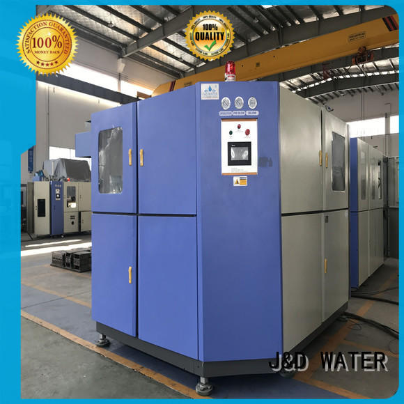 J&D WATER Stretch pet bottle machine standard for mineral water