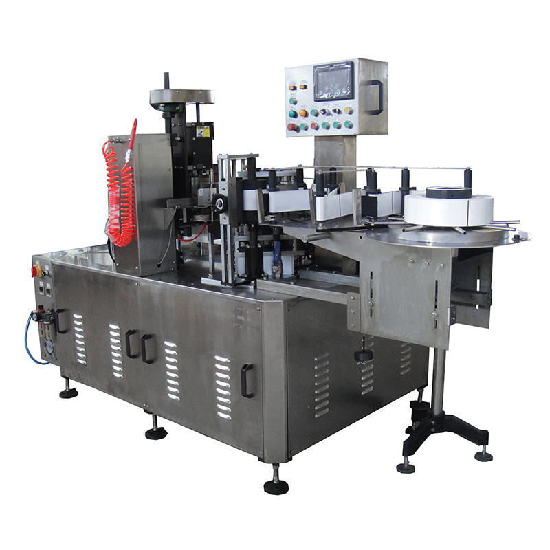 water bottle filling and labeling machine melt for glass bottle J&D WATER-2