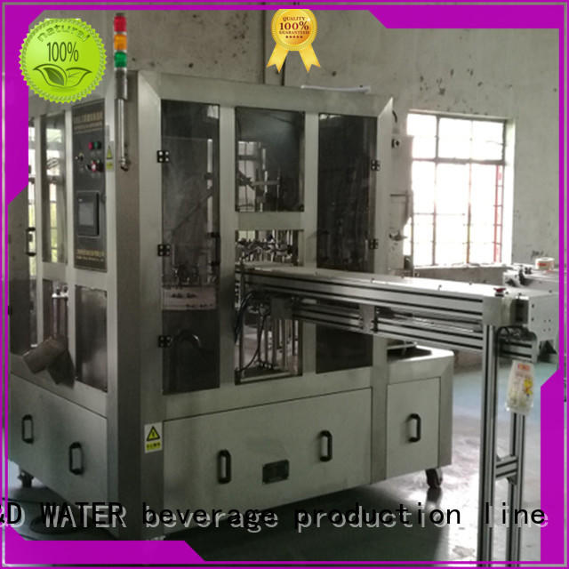 J&D WATER advanced technology bag filling machine good quality for PET plastic