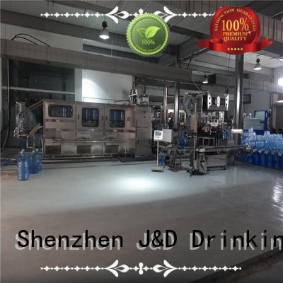 beer bottle filling machine bottle for sauce J&D WATER