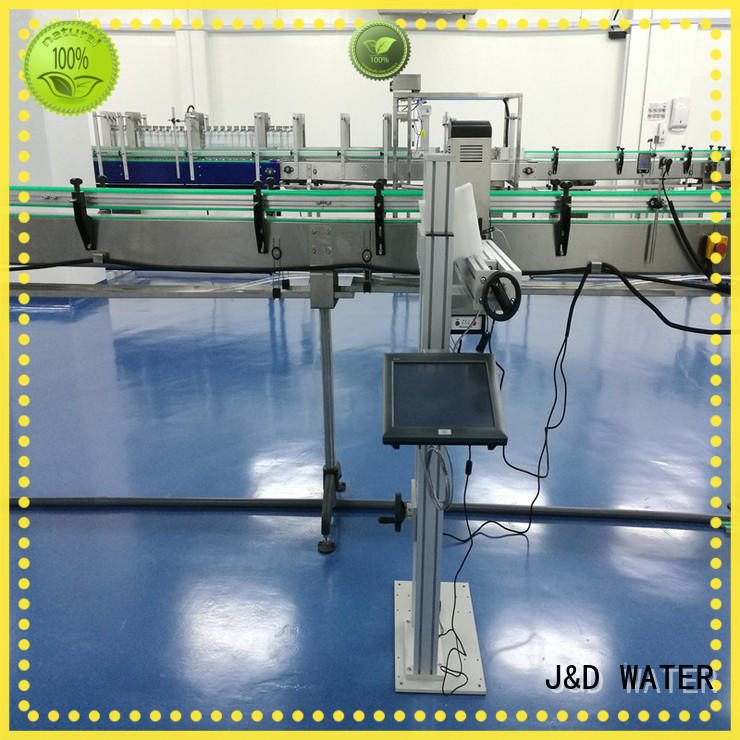 J&D WATER date printing machine high quality for paper