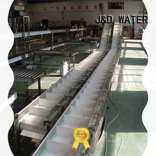 J&D WATER slat conveyor stainless steel for daily chemical