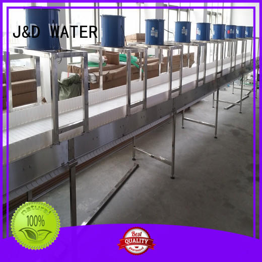 J&D WATER Customized chain conveyor stainless steel for food