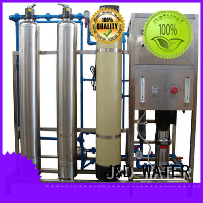 high quality reverse osmosis water treatment equipment With Steel for water treatment