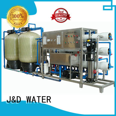 standrad reverse osmosis water treatment equipment with Glass Tank for pure water