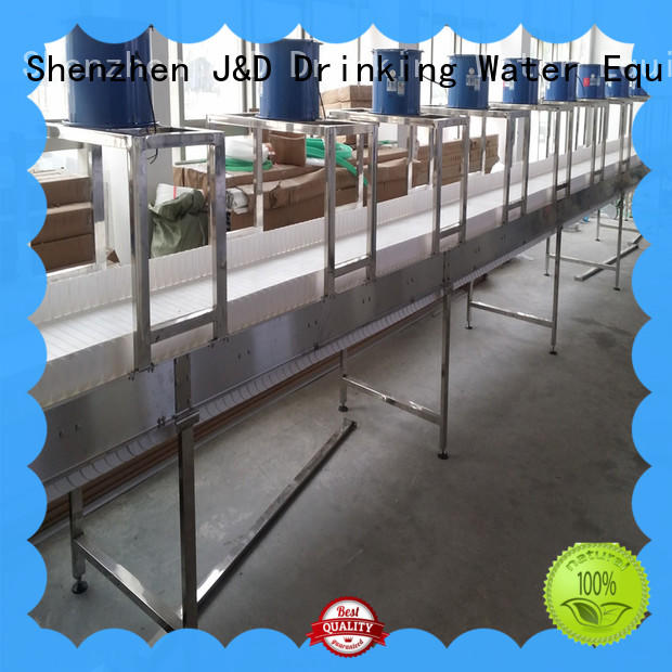 J&D WATER energy saving slat conveyor stability for daily chemical