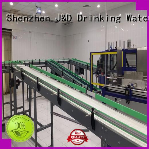 belt conveyor stainless J&D WATER Brand chain conveyor belt manufacture