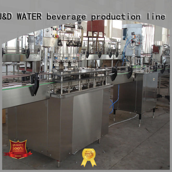 canning machine stainless steel for oil J&D WATER