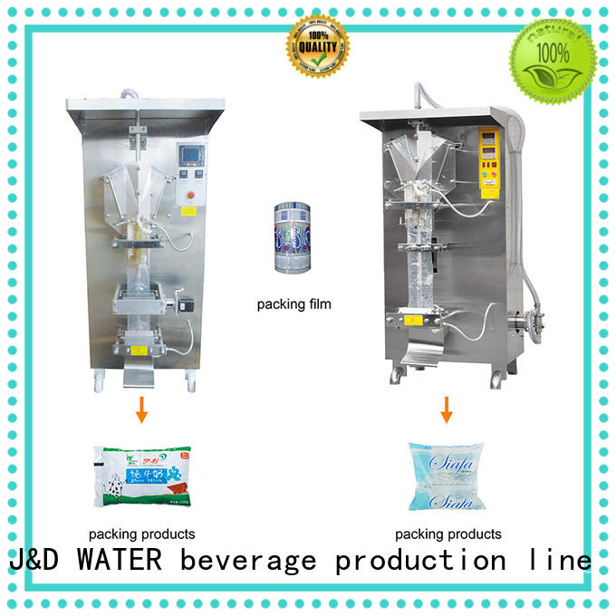 J&D WATER bag filling machine good quality for package