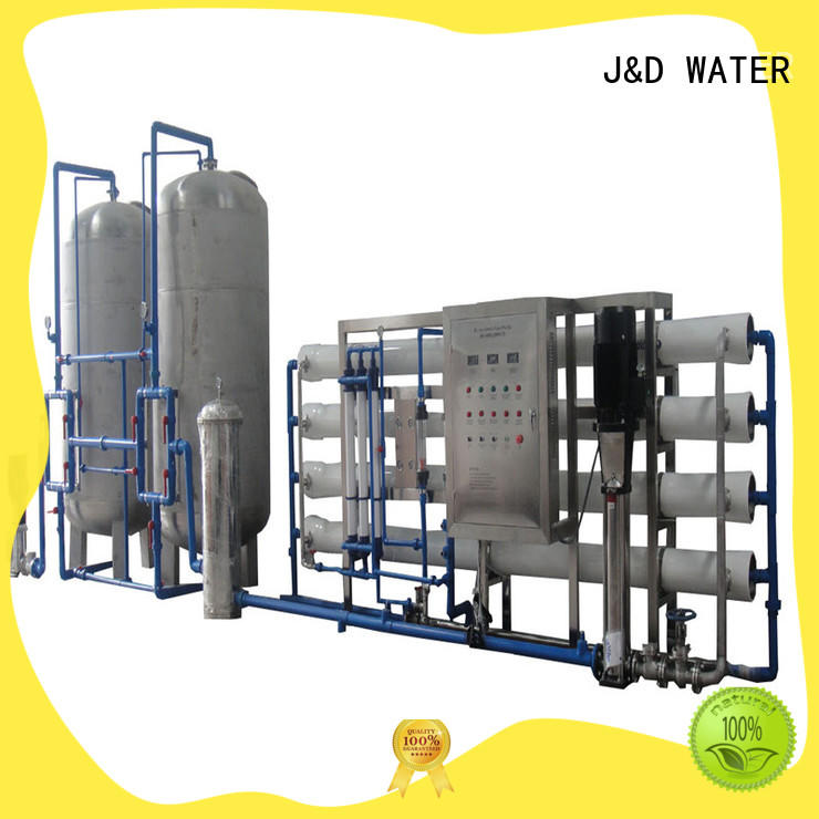 J&D WATER Customized osmosis machine With Steel for industrial waste treatment