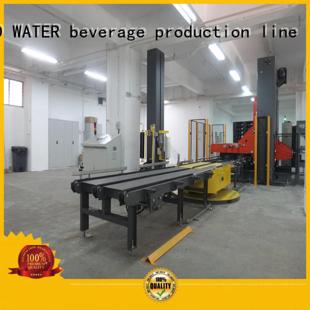 automatic pallet wrapping machine easy to operate for sugar
