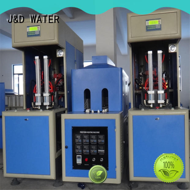 J&D WATER Customized automatic blow moulding machine for sale for mineral water bottles