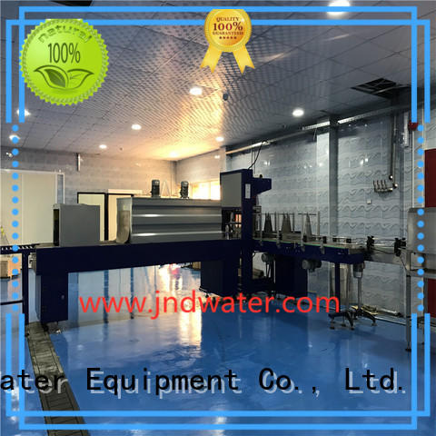 J&D WATER intelligent shrink machine precise control for food
