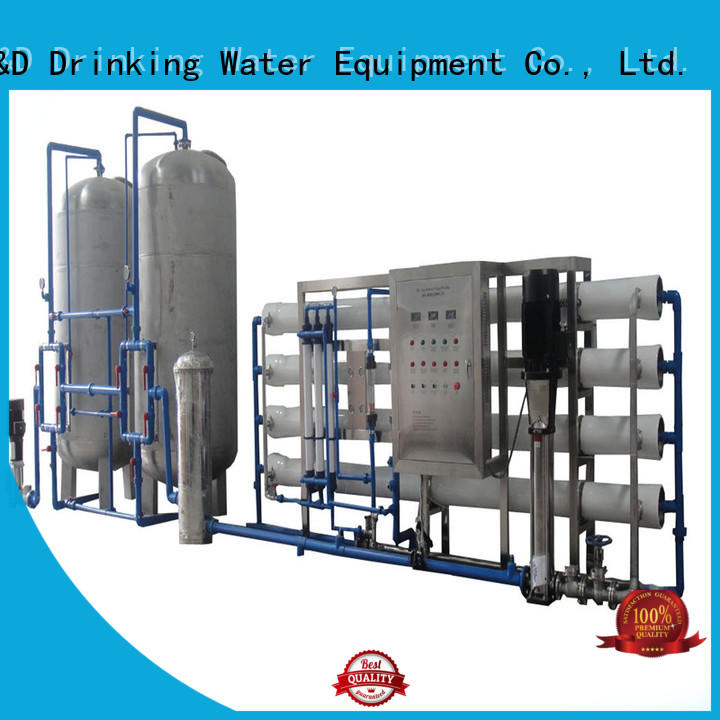 filter ro filter machine With Steel for water treatment J&D WATER