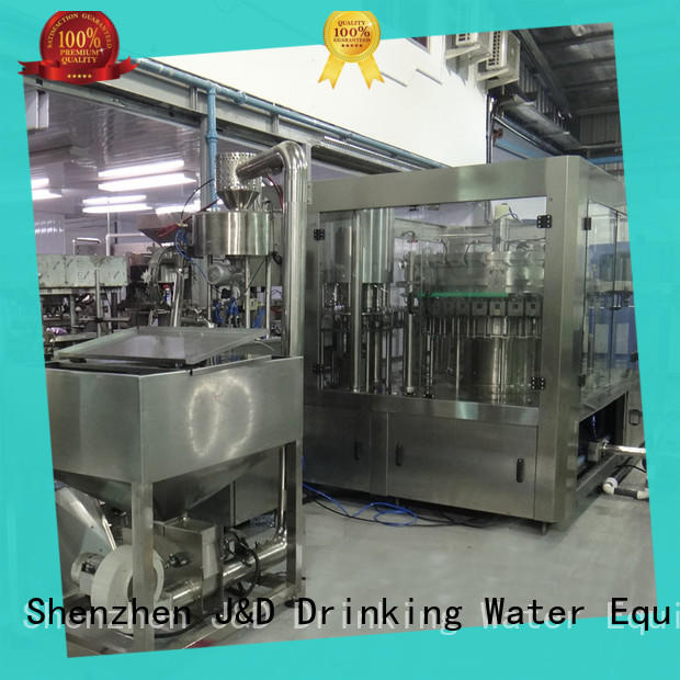 J&D WATER auto packing machine high accuracy for vinegar