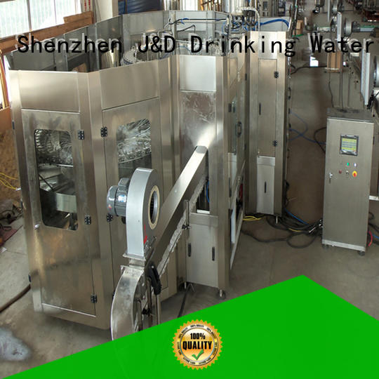 Quality J&D WATER Brand automatic bottle filling machine automatic