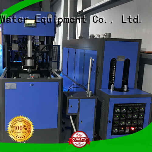 J&D WATER semi-automatic plastic bottle blowing machine CE standard 1 Gallon&2 Gallon &3 Gallon Bottle