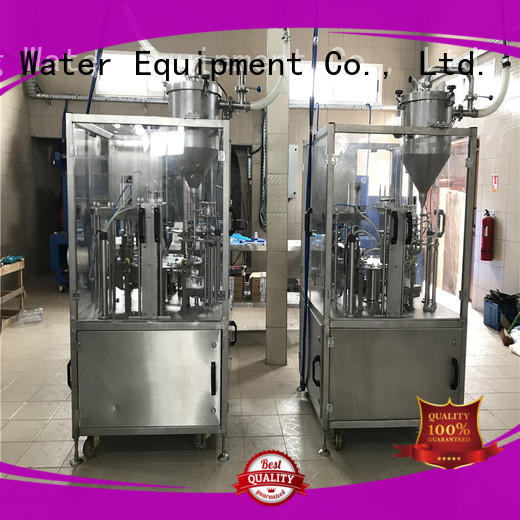 J&D WATER easy operation cup sealing machine high accuracy for PET plastic