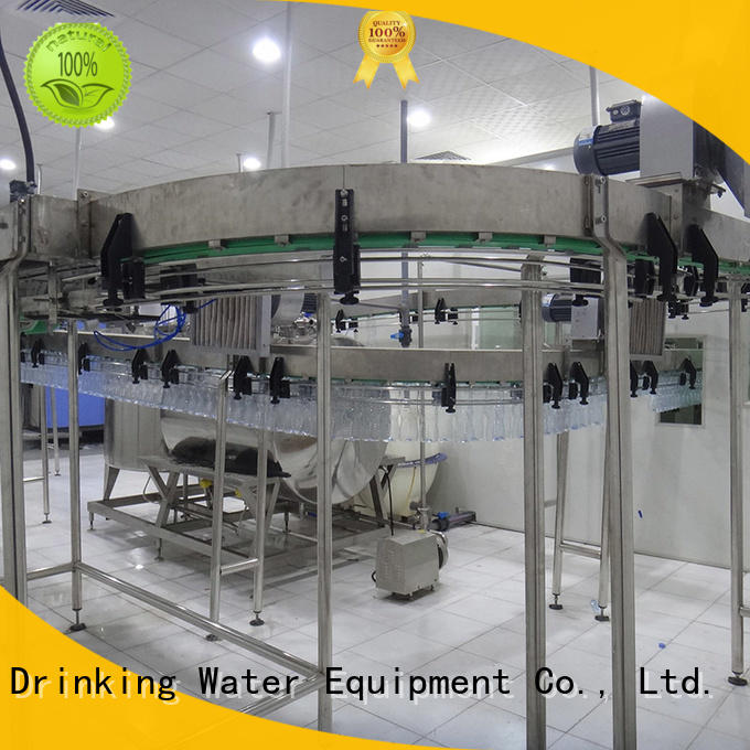 beverage conveyor air conveyor systems filling machine J&D WATER Brand