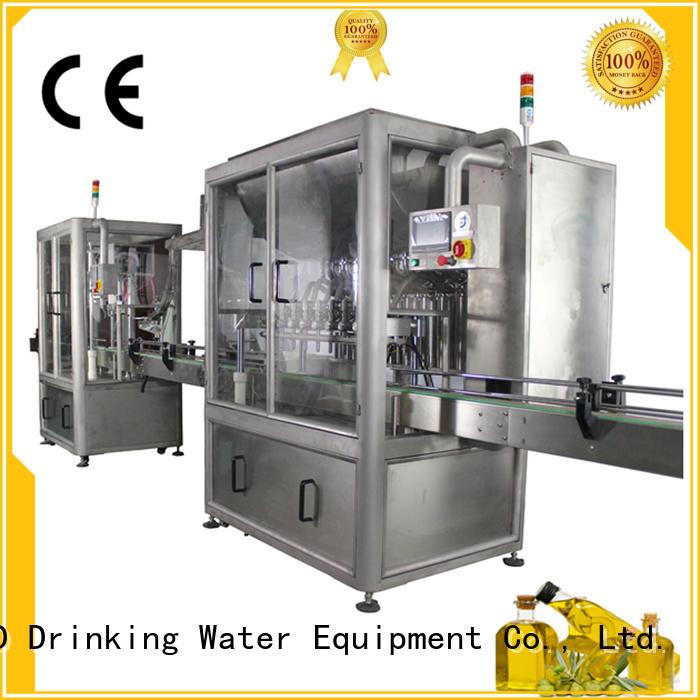 series sealing automatic J&D WATER Brand filling sealing machine factory