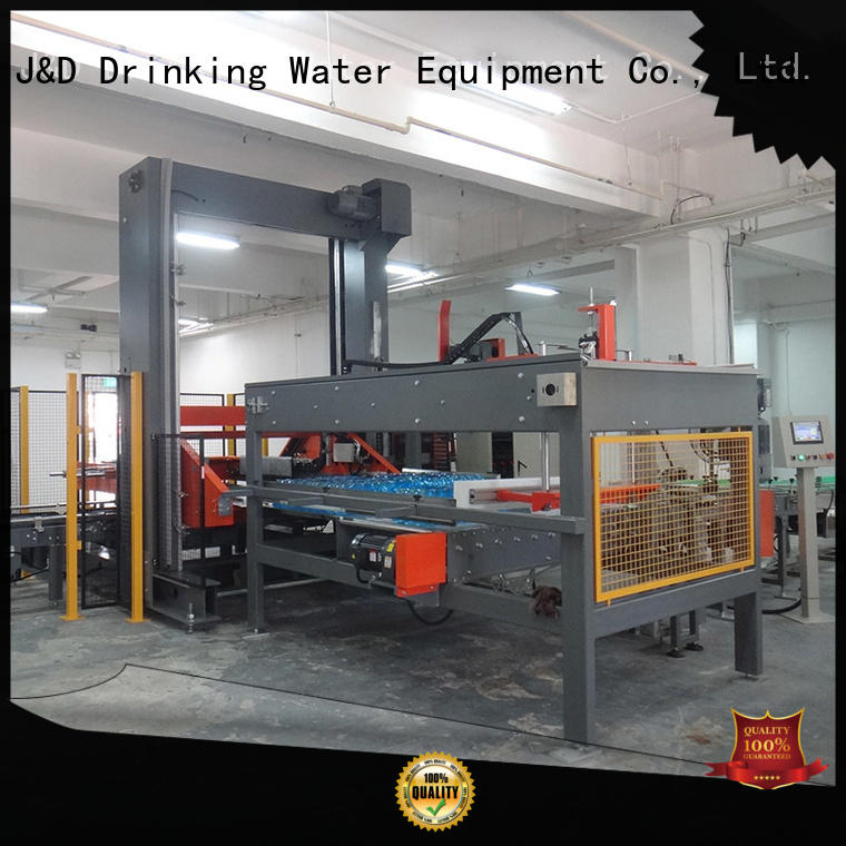 J&D WATER pouch can depalletizer for beverage