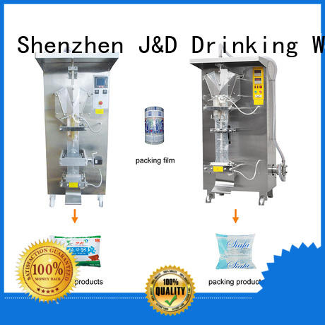J&D WATER filling automatic bagging machine factory for beverage
