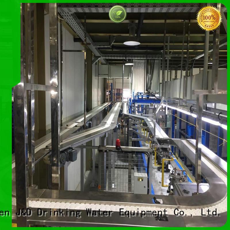system chain conveyor belt slat for food J&D WATER