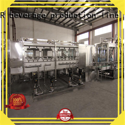J&D WATER larger capacity industrial bottling machine stainless steel for PET