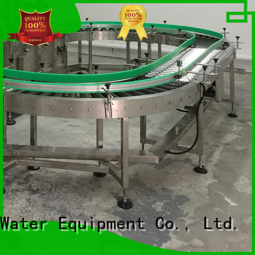 J&D WATER industrial powered roller conveyor high efficiency for daily chemical