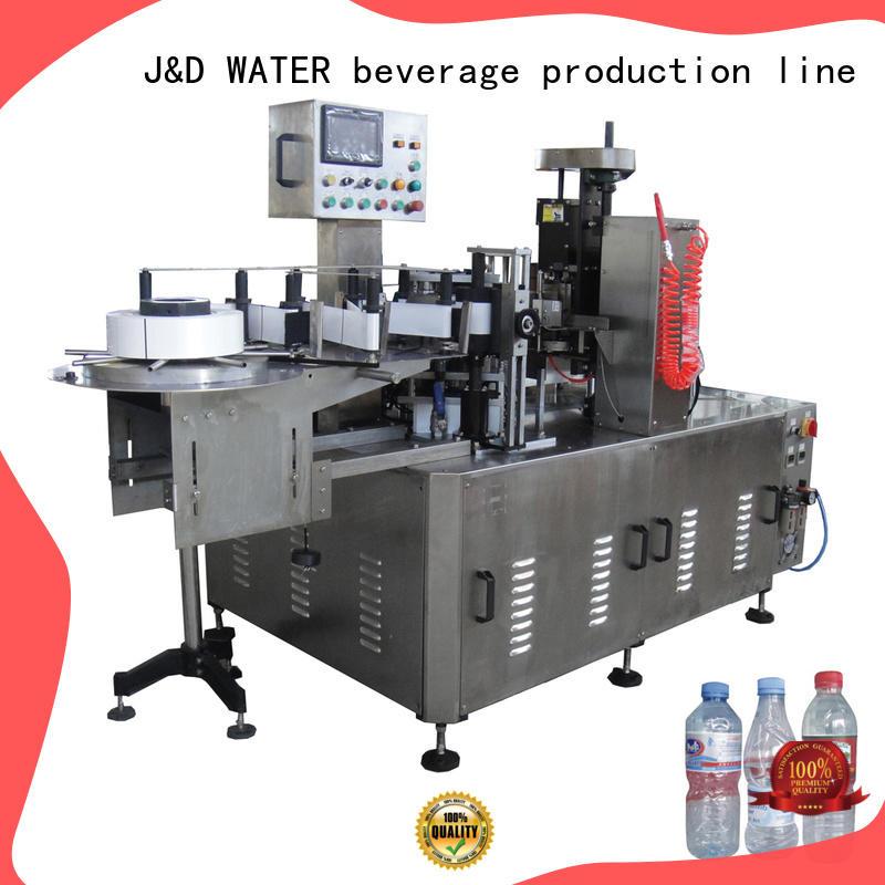 High Speed square bottle labeling machine adjustable for plastic bottle