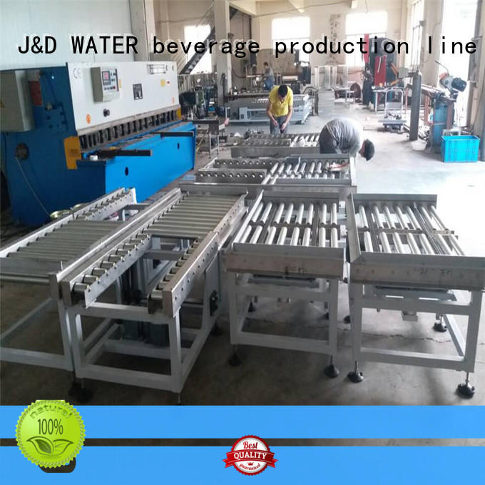 J&D WATER conveyor belt roller high efficiency for water