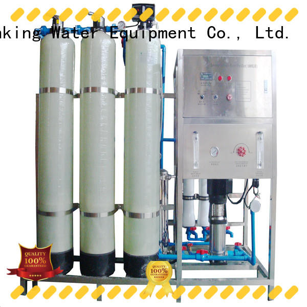 J&D WATER system reverse osmosis machine with Glass Tank pure water standrad