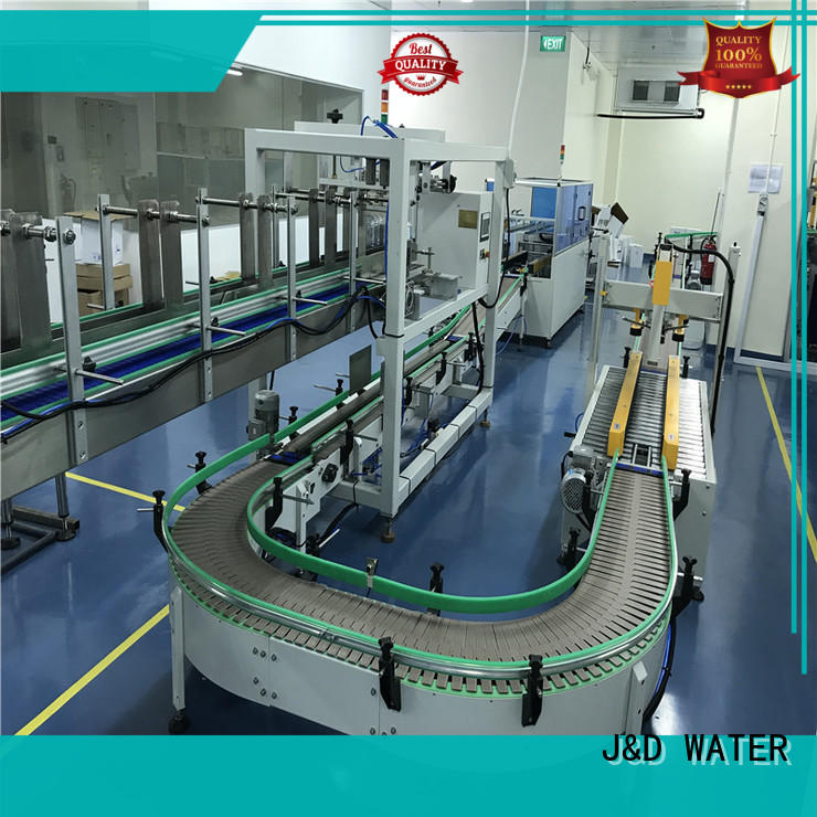 J&D WATER cartoning equipment precise control for food